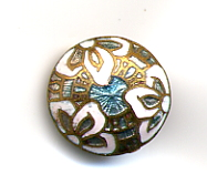 Antique Enamel Button