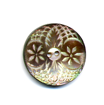 Antique Pearl Button