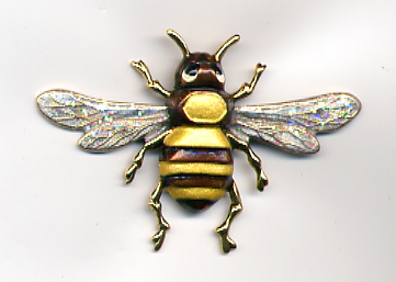 Lg. Bee Button