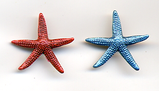 Starfish Button