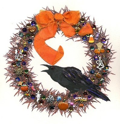 A Halloween Wreath Kit
