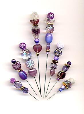 Pin-Its - Assortment #4 - Purple/Lavenders