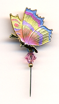 Pin-Its - Butterfly Yellow