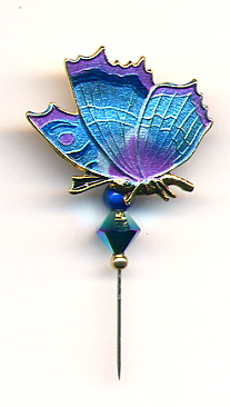 Pin-Its - Butterfly Blue