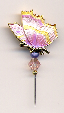 Pin-Its - Butterfly Pink