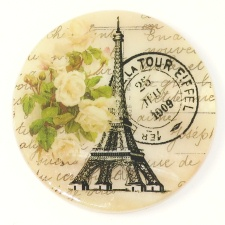 Eiffel Tower w/Postmark