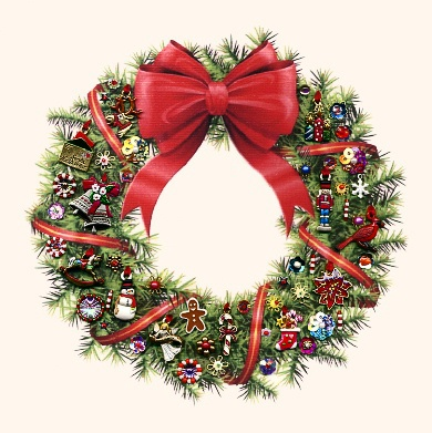 Christmas Wreath Kit for 2015