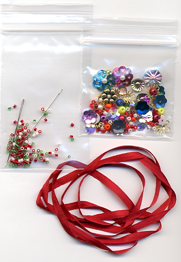 Embellishments for Christmas Wreath 2015