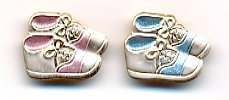 Baby Shoes Button