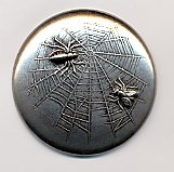 Spider & Fly Button