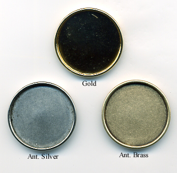 Bezel Cup Finishes - Examples Only