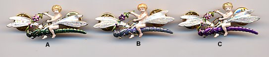 Pin - Cherub On Dragonfly