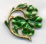 Pin - 4 Leaf Clover