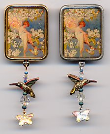 Pin - Fairy with Butterflies
